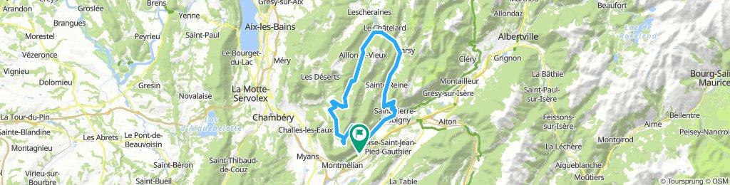 Bauges Alpes - 3 Col Loop