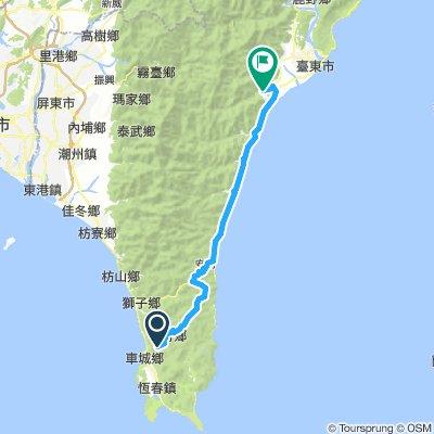 2016環島9-6四重溪->知本