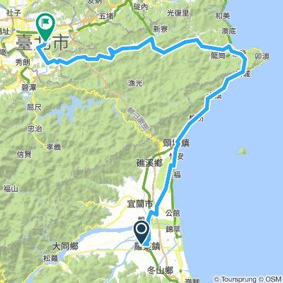 2016環島9-9羅東->台北