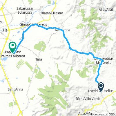 Day 1 Usellus nach Palmas