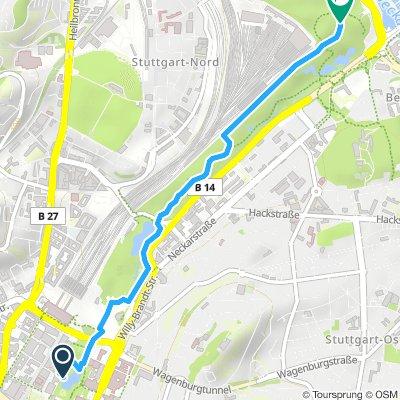 Stgt Schloßgarten - Rosensteinpark