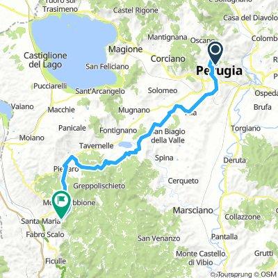 Perugia - Montegabbione bis