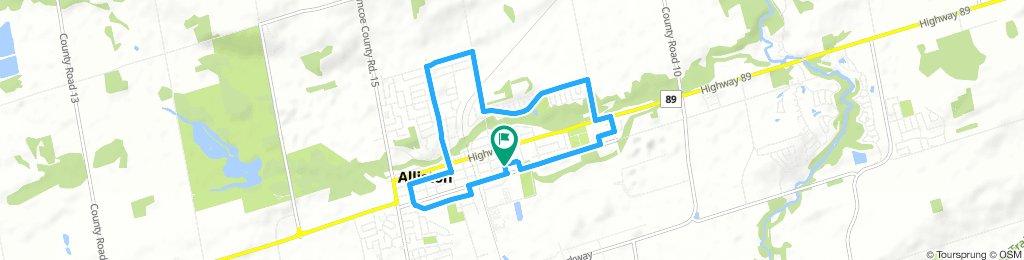 Plein Air - Bike Route #1