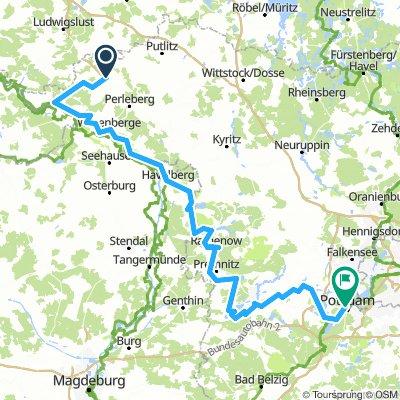 Elberadweg and Havelradweg. Cycling Brandenburg