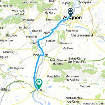 J-3 Avignon - Arles