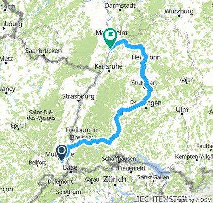 Neckar-Tour 2018