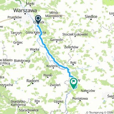 Wyjazd do Kazimierza Dolnego około 250 km SZOSA