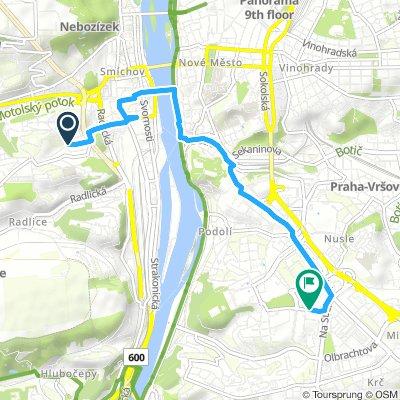 Easy Morning Route In Prague