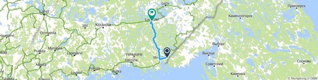 Шайба-Тааветти и обратно - 110 км
