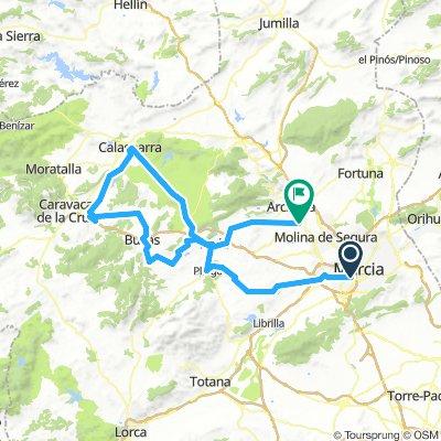 Ruta del Murcia Etappe 1