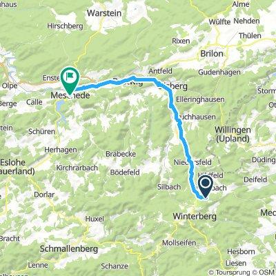 Start Ruhrradweg