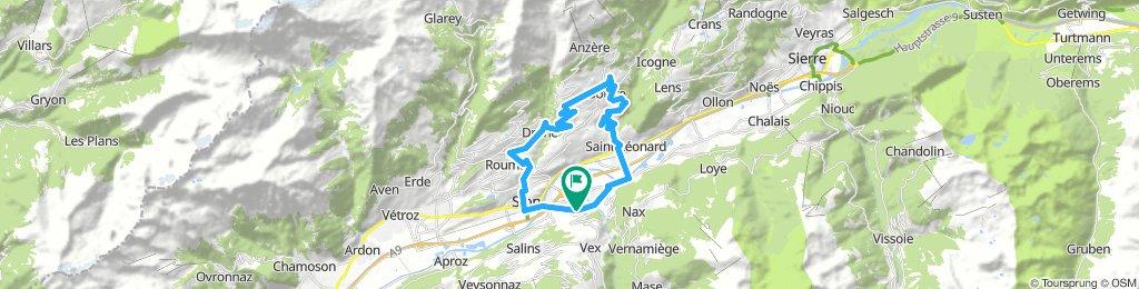 Sion-Ayent-Arbaz-Saviese-Sion