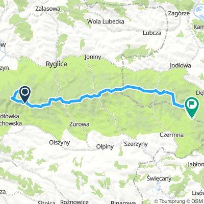 Brzanka -Dębowa-25 km