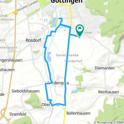 Geismar - Obernjesa und zurück