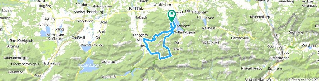 Bad Wiessee - Lengries - Glashütte - Scharling