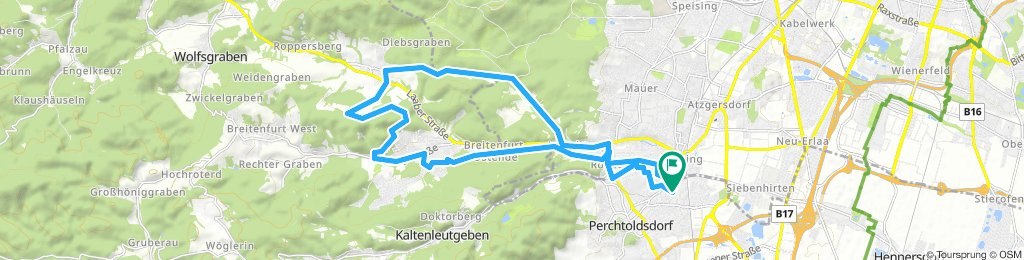 Lengthy Samstag Route In Perchtoldsdorf