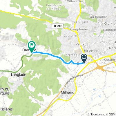 Long Samedi Route In Nîmes