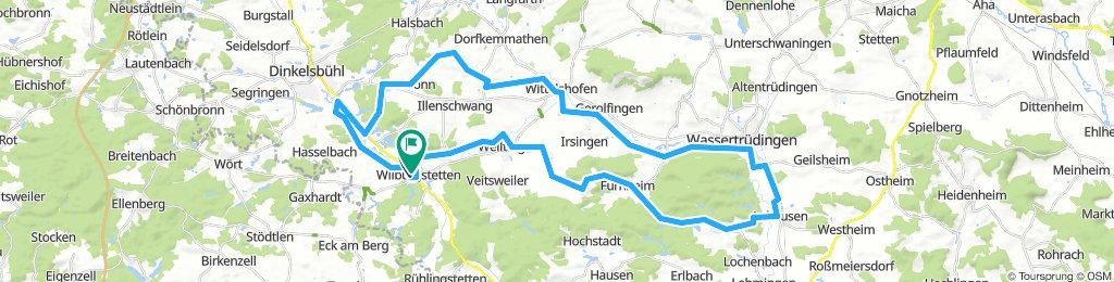 Wilburgstetten - Wassertrüdingen - Wilburgstetten