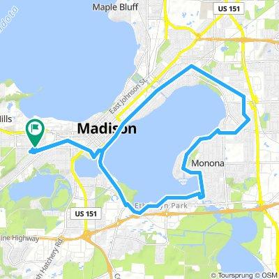 St. Andrews/Lake Monona Bike Ride