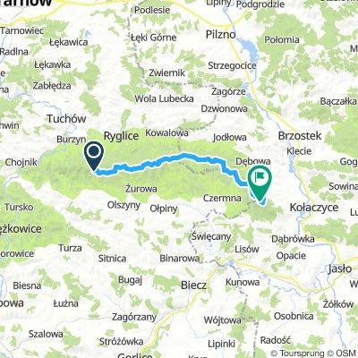 Brzanka -Liwocz-25 km