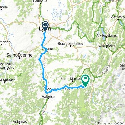 Tour de la Joie Vélonaute LYON