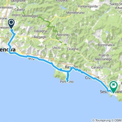 Day 3: Torrozza to Sestri Levante