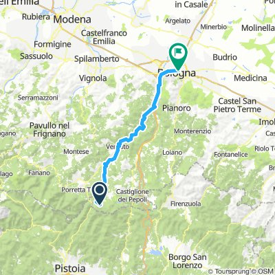 Day 7: Lago di Suviano to Bologna