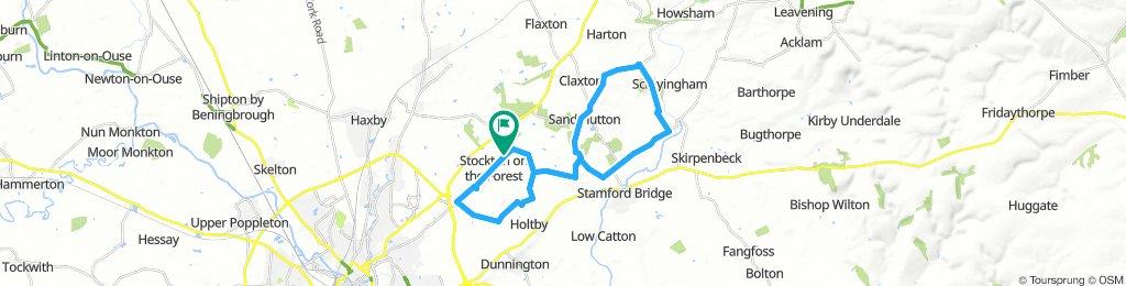 Lengthy Sunday Track In York