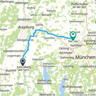 2) Landsberg am Lech - Dachau