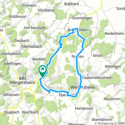 Igersheim-34km-Rundtour