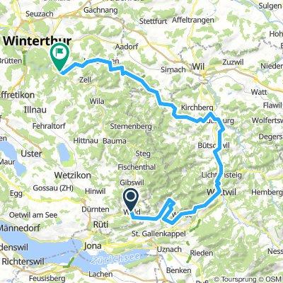 ZH Wald- Kollbrunn Appenzellerland