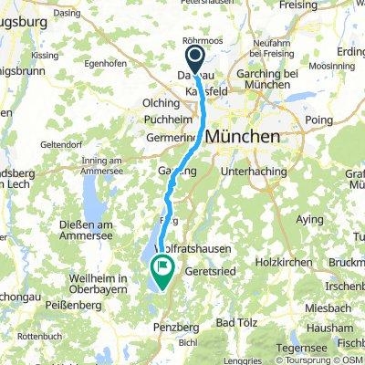 3) Dachau - Munsing