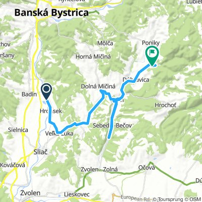 bike tour from 14:10, 8 May