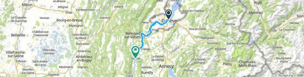 Genf - Seyssel