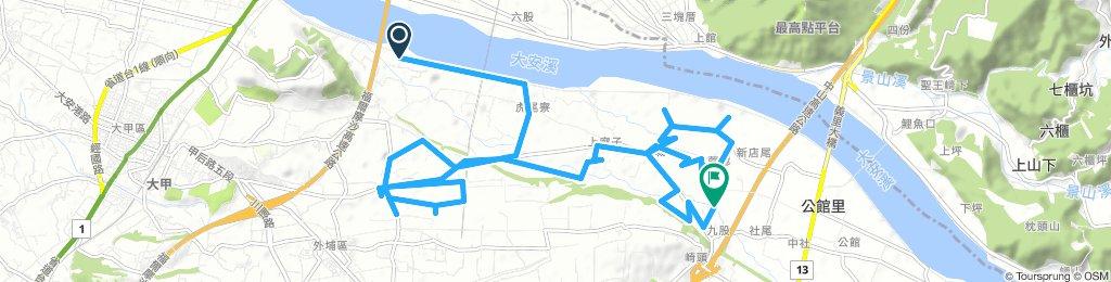 Easy 星期一 Track In 外埔區