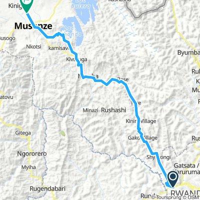 Kigali to Musanze