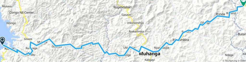 Kibuye to Kigali