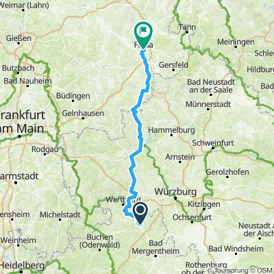 RennFietsen Tour 2018 - 2. Etappe