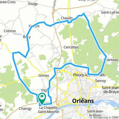 Forêt d'Orléans 62Km