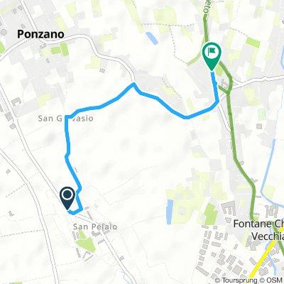 Da San Pelajo a Fontane e altre aree picnic