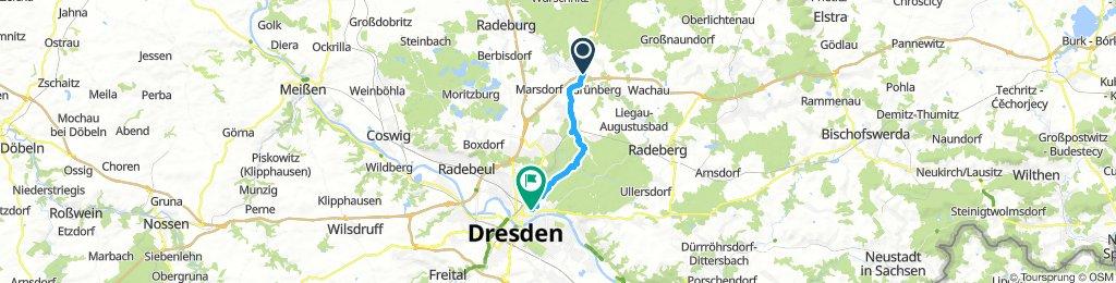 Ottendorf-Okrilla nach Dresden