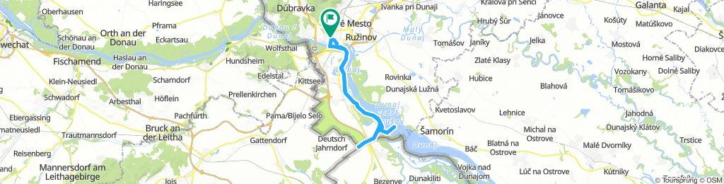BikeBratislava - Tripoint - Danubiana Museum