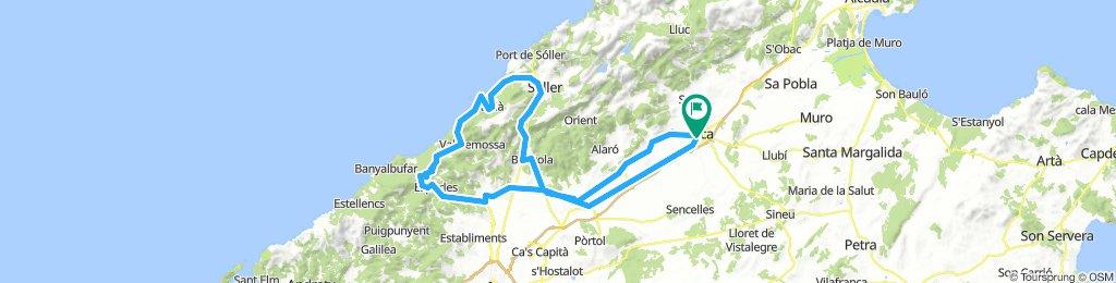 ST.MARIA-ESPORLES-SOLLER-COLL DE SOLLER-BUNYOLA-INCA