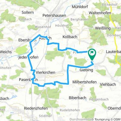 Kleine Radtour Asbach - Pasenbach