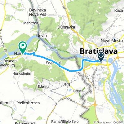 Bratislava - Hainburg