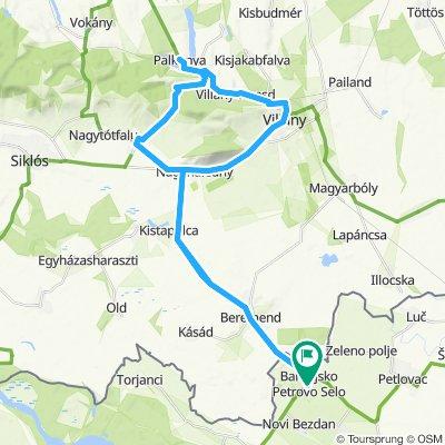 Baranya Szársomlyó bike & hike wine tour