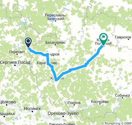 на ЮП через Киржач