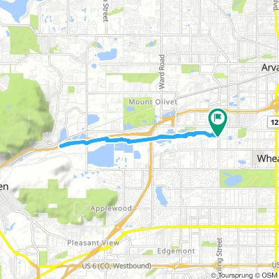 Cycling Routes And Bike Maps In And Around Wheat Ridge Bikemap