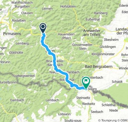 1.Hinterweidenthal-Wissembourg