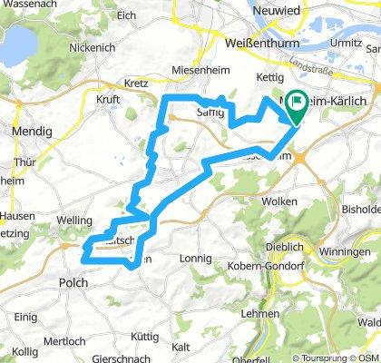 Mühlheim-Kärlich Nettetal  45,8 570